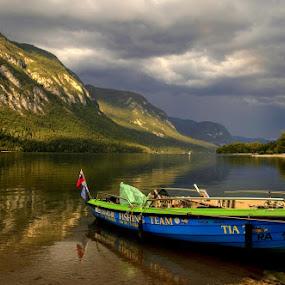 TIA by Jože Borišek - Landscapes Waterscapes ( bohinj-slovenia )