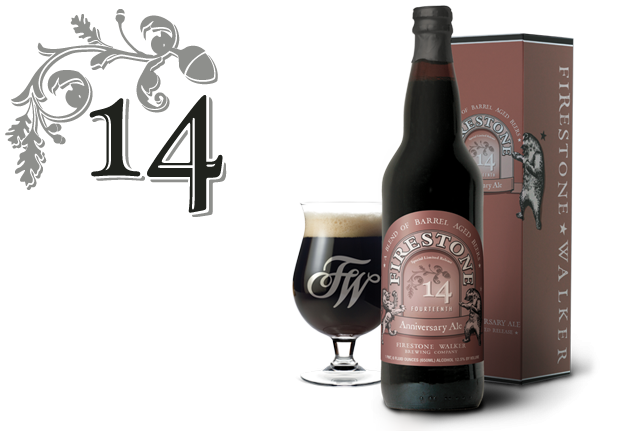Logo of Firestone Walker 14th Anniversary Ale