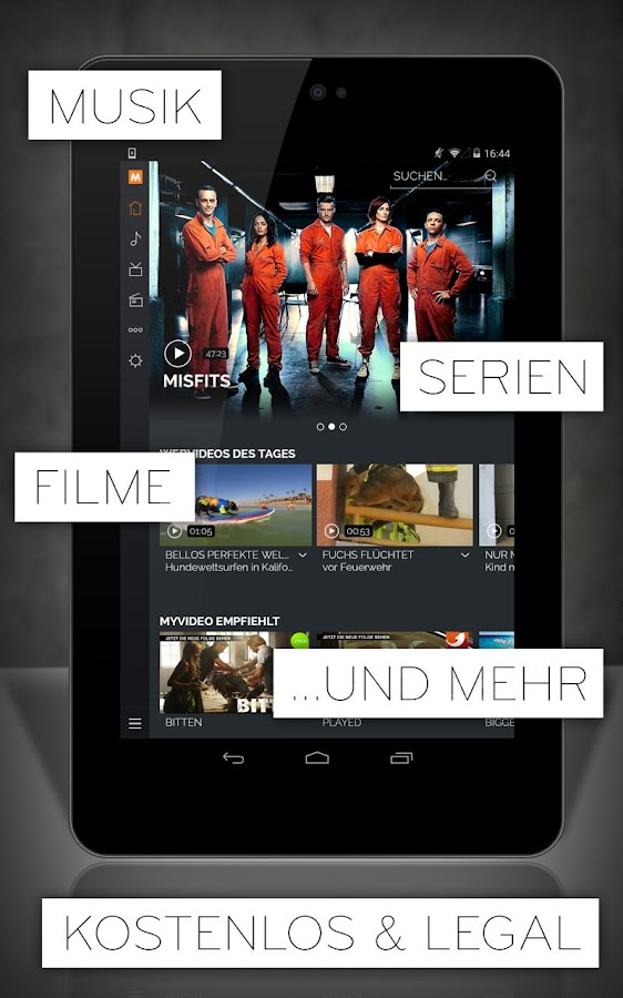 MyVideo: Musik, Filme & Serien - screenshot