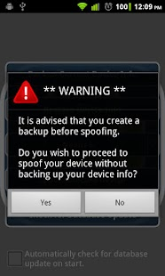Device Spoofer - screenshot thumbnail