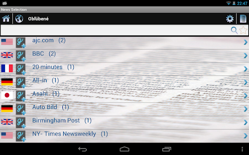 News Selection Newspapers- screenshot thumbnail