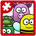 Animal fun - kids puzzle game icon
