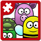 Animal fun - kids puzzle game