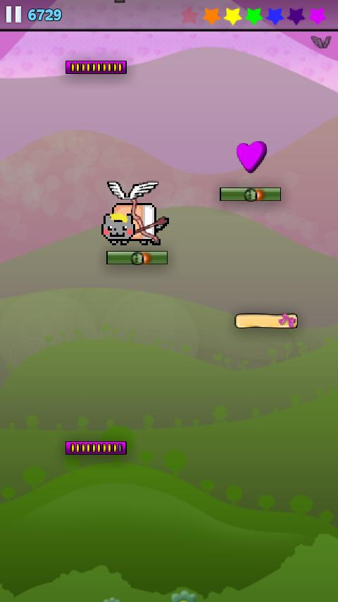Nyan Cat: Jump!- screenshot