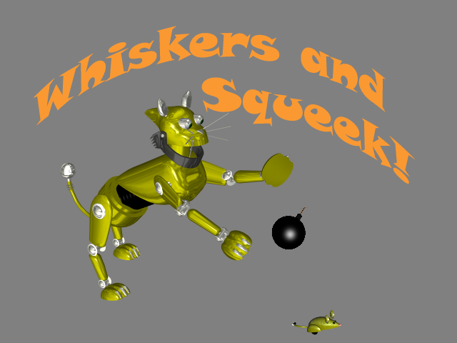 Whiskers and Squeek!- screenshot