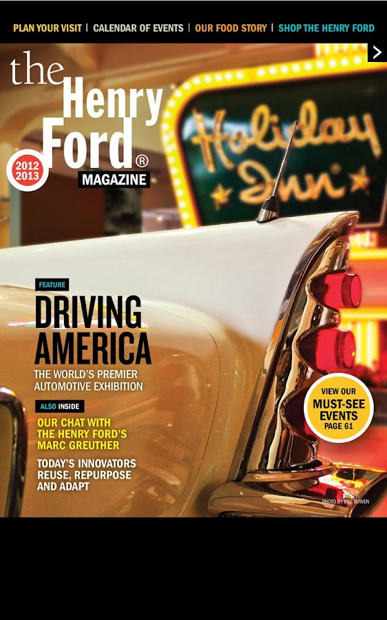 The Henry Ford Magazine 2012 - screenshot