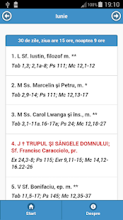 Calendar Romano-Catolic 2015 - screenshot thumbnail