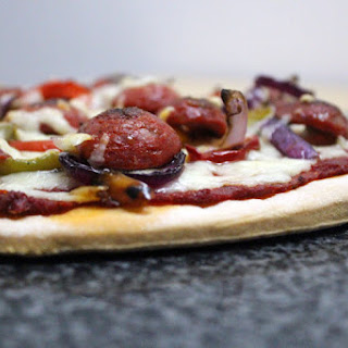 Gluten Free And Dairy Free Pizza.