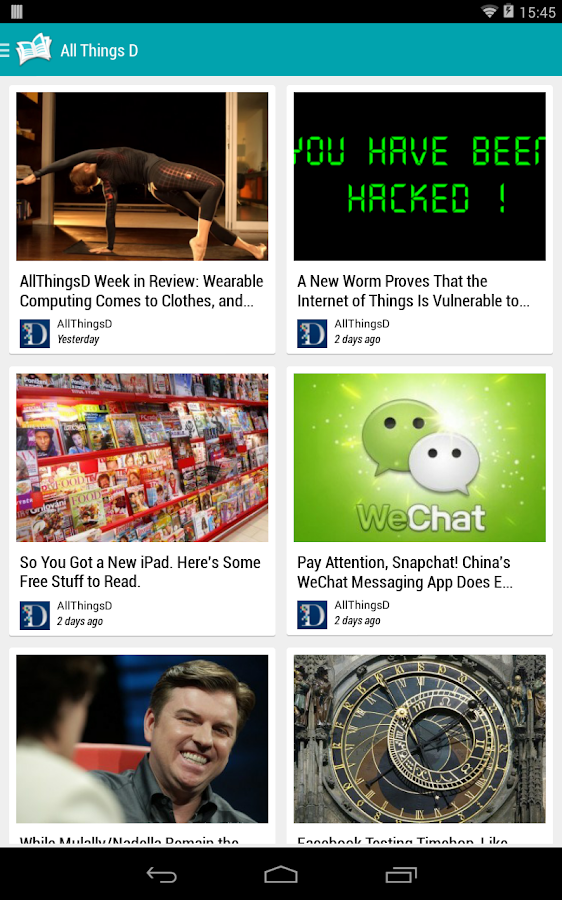 PaperBoy : A Feedly NewsReader- screenshot