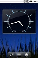 Screenshot of SWAP 4x3 Analog Clock Widget