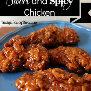 Sweet and Spicy Chicken.