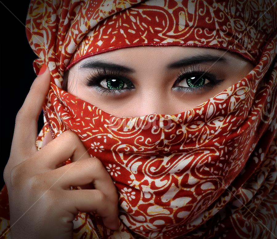 # Lady Ninja # by Dhani Photomorphose - People Portraits of Women