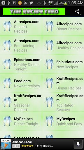 The Recipe Feed