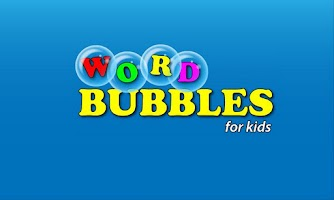 Screenshot of Word Bubbles for Kids