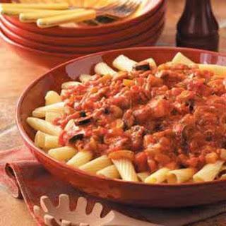 Chunky Pasta Sauce Recipe.