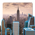 3D New York Live Wallpaper icon