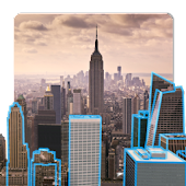 3D New York Live Wallpaper