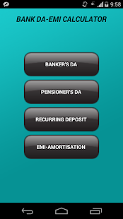 Bank DA-EMI Calculator- screenshot thumbnail