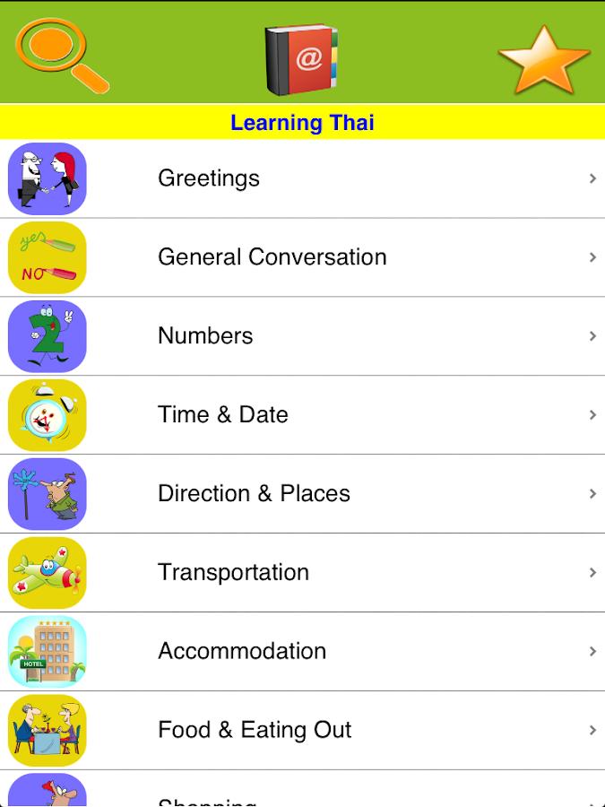 how to speak thai for tourist