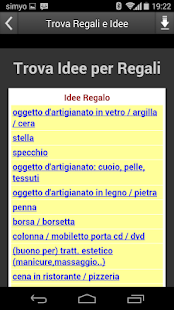 Trova Regali e Idee- screenshot thumbnail
