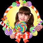 Marcos de fotos de Caramelos icon