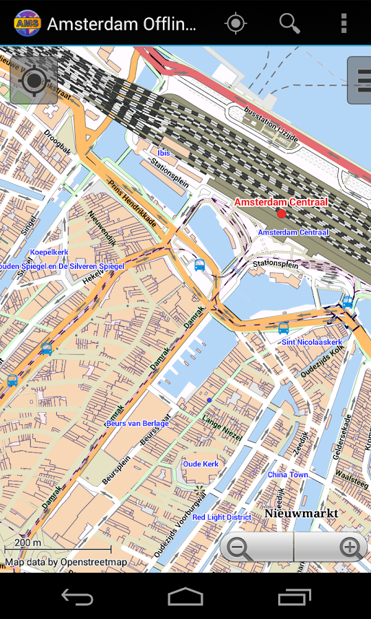 Amsterdam Offline City Map- screenshot