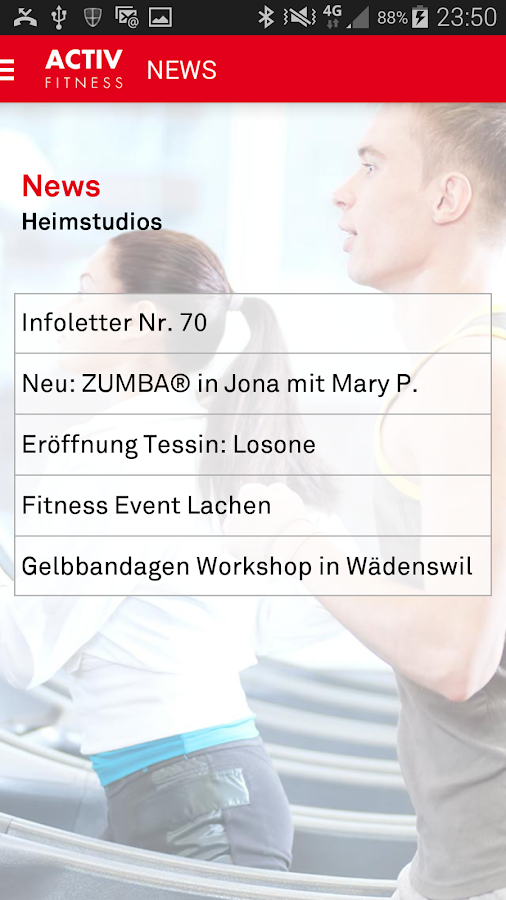 ACTIV FITNESS- screenshot
