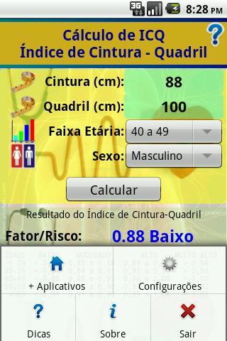 【免費健康App】ICQ: Indice Cintura-Quadril-APP點子