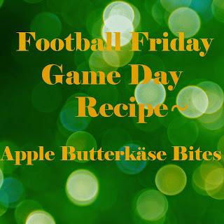 Football Friday-Apple Butterkäse Bites