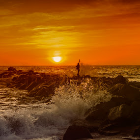California cool ... Venice Beach, CA. by Tin Tin Abad - Landscapes Sunsets & Sunrises (  )