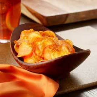 Roasted Sweet Potato Chips.