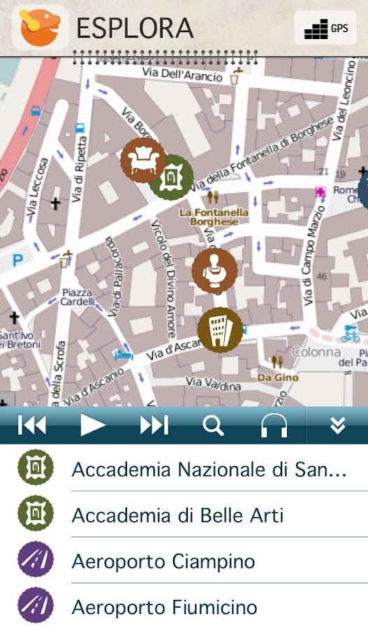 Guida Turistica di Roma iDotto- screenshot