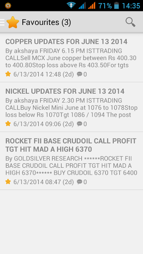 FREE Commodity Alerts