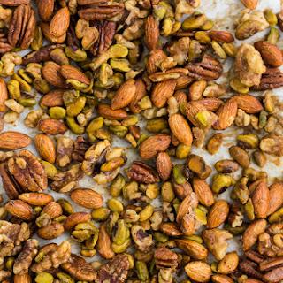 Honey Mustard Roasted Nuts