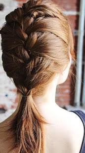 时尚女性发型:法国辫子