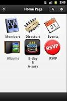 Screenshot of Clubapp