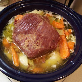New England Boiled Dinner.