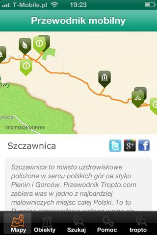 Szczawnica - miasto i okolice - screenshot