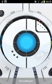 Space Robot LiveWallpaper Screenshot 2