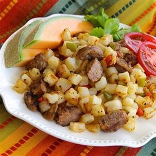 Smoked Sausage-Potato Hash.