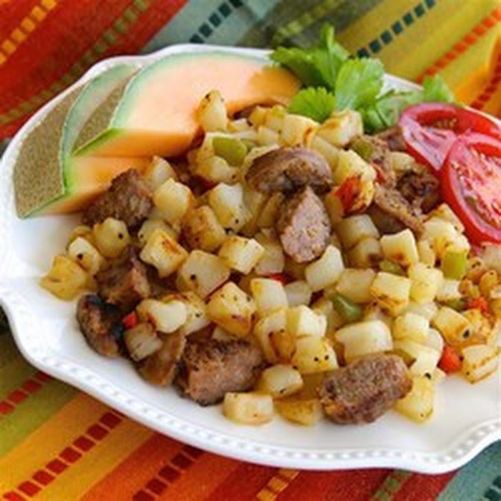 Smoked Sausage-Potato Hash