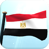 Egypt Flag 3D Free Wallpaper