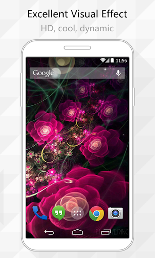 Amazing Flower Live Wallpaper