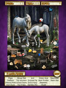 Hidden Objects Unicorn Dreams
