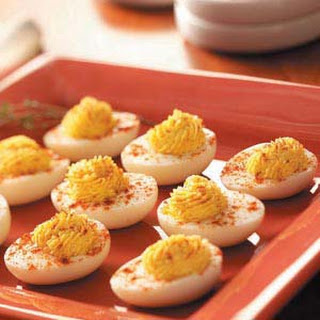 Easy Deviled Eggs.
