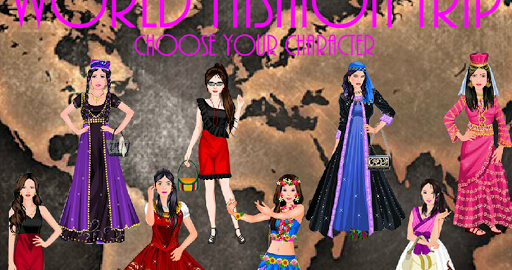 WORLD FASHION TRIP - GIRL GAME for PC