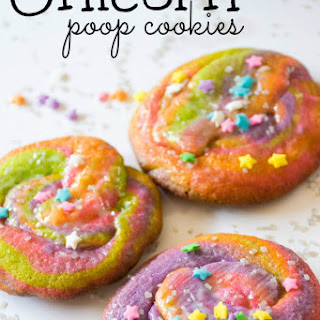 Make Unicorn Poop Cookies
