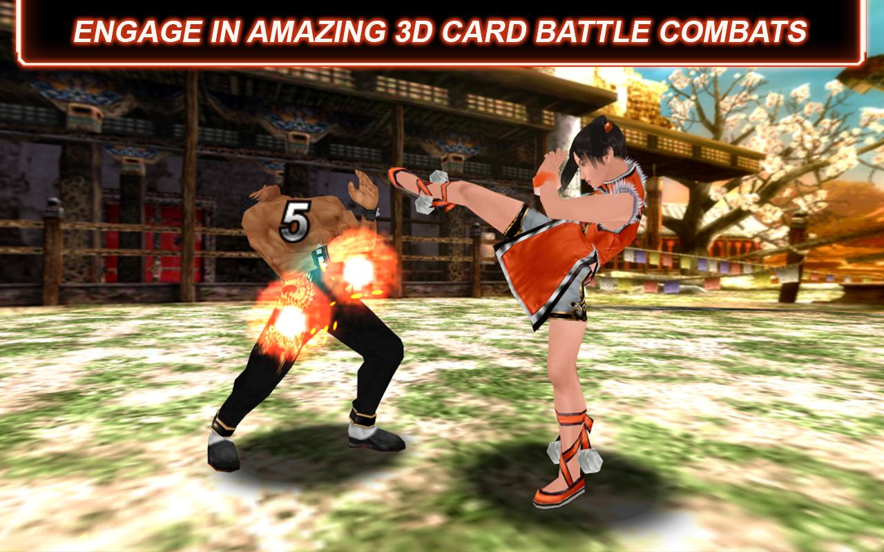 Tekken Card Tournament - screenshot