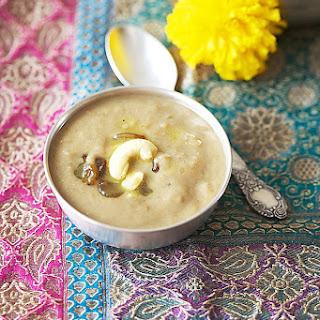 Moong Dal Payasam/Indian Lentil Pudding.