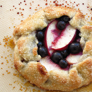 Blueberry Nectarine Crosata.